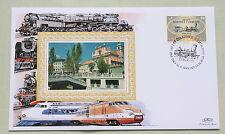1st treno a Lubiana 150º aniv 1999 Benham copertura FERROVIARIO N. 117 LUBIANA H / S
