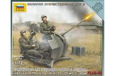 ZVEZDA 6117 1/72 German 20mm Anti-Aircraft Gun with Crew