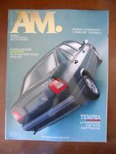 AM Mensile Automobile n°7 1990 Y10 Selectronic Vectra Fiat Tempra Berline  [P40]