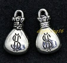 Free shipping Tibetan silver charm pendant antique purse 10-150pcs 1.8g 17x10mm