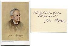 PETER ROSEGGER - orig. sign. Autogramm mit Fotopostkarte, Autograph, signed
