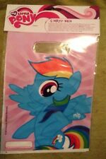 New - 12 My Little Pony Party Bags - MLP Birthday Treat/Favour Bags - Free P&P