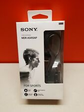 Sony Mdras410apb Sports Headphones With Mic Black