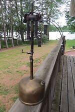 Coleman Lamp & Stove Co.brass lantern light model 78 antique