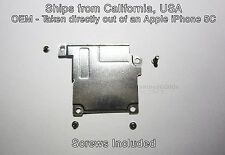 Apple iPhone 5C EMI Shield Digi/LCD Front Camera Screw Shield Bracket & 4 Screws