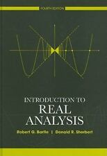 Introduction to Real Analysis by Donald Sherbert and Robert Bartle...USA EDITION