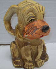 Vtg Napcoware Hound Dog Puppy Bank M-6915 Made in Japan
