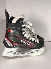 Youth Junior Boys Ice Hockey Skates Ccm Ft350 Jet Speed Size 3D