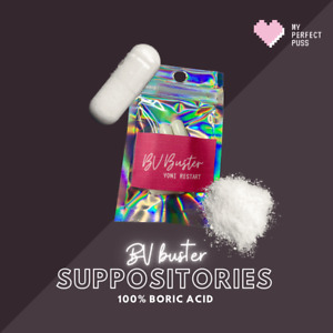 30 x BV BUSTER: 100% boric acid suppositories