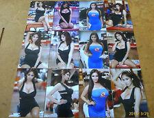 SET OF 12 4X6 PHOTOS OF ASIANS IMPORT CAR MODEL KAI LANSANGAN AKA XENA KAI Z-3