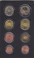 Portugal 2004 KMS Circulation Coins Set IN Folder