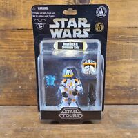 Disney Parks Star Wars Tours Donald Duck Commander Cody Action Figure Series 5