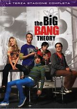 THE BIG BANG THEORY STAGIONE 3 - COFANETTO 3 DVD NUOVO!