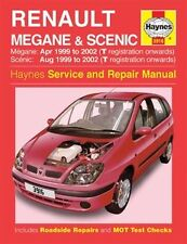 Haynes Owners + Workshop Car Manual Renault Megane + Scenic Petrol + Diesel 3916