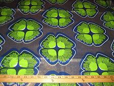 Veritable Real Wax African Print 100% Cotton Fabric Fat Quarter # 06025