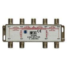 Repartiteur 8-voies 5-2400MHz Sorties Antenne TNT TV SAT Direction Splitter