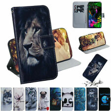For Samsung S10 S20 Note 20 Ultra Leather Pattern Wallet Case Flip Support Cover