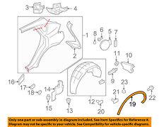Infiniti NISSAN OEM 08-12 EX35 Fender-Wheel Flare Molding Left 788611BA0B