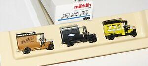 """Märklin H0 1898 Wagen-Set """"Oldtimer - 500 Jahre Post"""" OVP AS20120"""