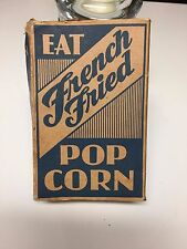 Antique Vintage Eat French Fried Popcorn Box