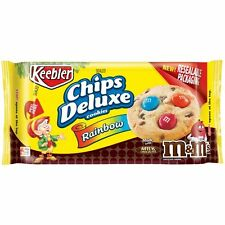 NEW SEALED CHIPS DELUXE COOKIES RAINBOW WITH MILK CHOCOLATE M&M'S 11.3 OZ