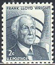 SC#1280 2c Frank Lloyd Wright MNH