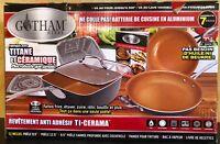 Gotham Steel Non-Stick Pantastic Titanium & Ceramic 7 Piece Cookware Set New