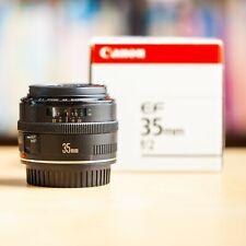 Canon EF 35mm f/2 + Boite d'Origine Autofocus AFD 1:2 !! Super Offre !!