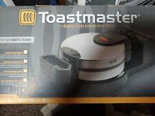 New listing Toastmaster Flip Low-Profile Rotating Waffle Maker