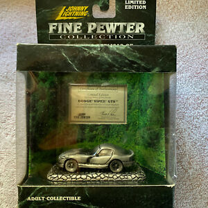 Johnny Lighting - Dodge Viper GTS 1999 - Limited Edition Fine Pewter Collection