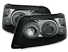 Projecteurs pour VW T5 03-09 Angel Eyes Noir UK RHD/LHD LPVWE5EL XINO
