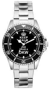Geschenk für DKW Auto Union Oldtimer Fahrer Fans Kiesenberg Uhr 1625