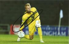 MK DONS: WIEGER SIETSMA SIGNED 6x4 ACTION PHOTO+COA