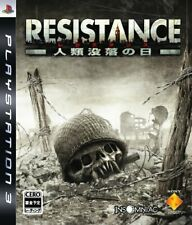 USED PS3 PlayStation 3 Resistance Fall of Man 30013 JAPAN IMPORT