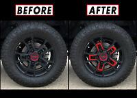 """Redout Blackout Overlay for 2014-21 Toyota Tundra 18"""" TRD Wheel Rim Inner Part"""