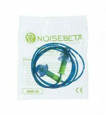 NOISEBETA HP6081 DETECTABLE CORDED EARPLUGS REUSEABLE EAR PLUGS SNR28 PRO PPE
