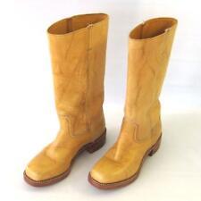Vintage Frye Campus Boots 77050 Golden Tan Women's Size 9 M Banana
