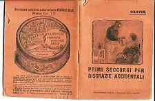mx 02 1913 PASTIGLIE VALDA  Pubblicità  Primi soccorsi per disgrazie accidentali