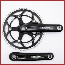 BIANCHI COMPONENTI CARBON CRANKSET 172.5mm 53-39T 130 BCD SHIMANO ISIS 10s SPEED
