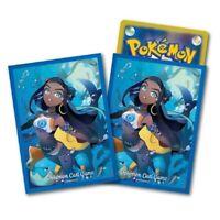 Pokemon center JAPAN - Nessa & Drednaw card Deck Shields (64 Sleeves)