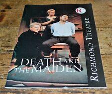 More details for vintage richmond theatre programme death & the maiden 1992
