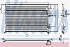FOR LAND ROVER DISCOVERY II 2.5 TD5 4.0 1998-2004 NISSENS AC AIRCON CONDENSER