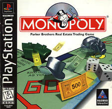 Monopoly - PS1 PS2 Playstation Game