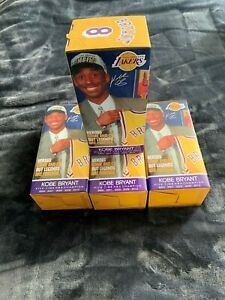 (1-3) KOBE BRYANT FINAL SEASON BOBBLEHEAD #1 SGA 3/1/16 *MAMBA* LA LAKERS NIB!