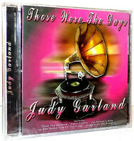 Judy Garland - Those Were The Days CD Over The Rainbow, That Old Black Magic