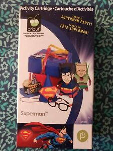 Cricut Superman Activity Cartridge