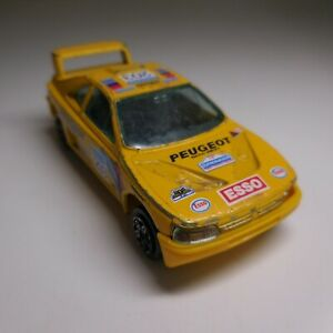 Voiture miniature course rallye Peugeot 405 1/43 BURAGO made in ITALY N6093