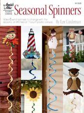 Plastic Canvas Pattern Book SEASONAL SPINNERS ~ 6 Designs