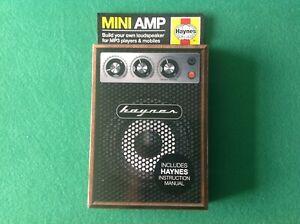 Haynes Mini Amp, Build Your Own Loudspeaker for smartphones  & MP3 Players