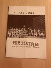 Pal Joey September 14, 1941 Broadway Playbill